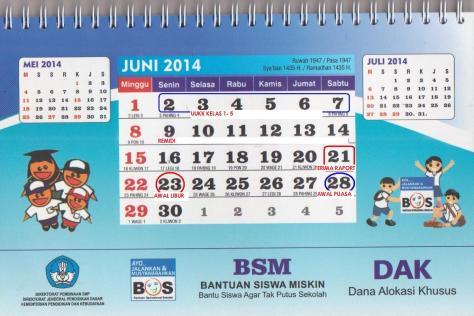 BULAN JUNI 2014